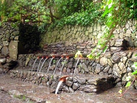 Chorros de Epina, Vallehermoso, La Gomera