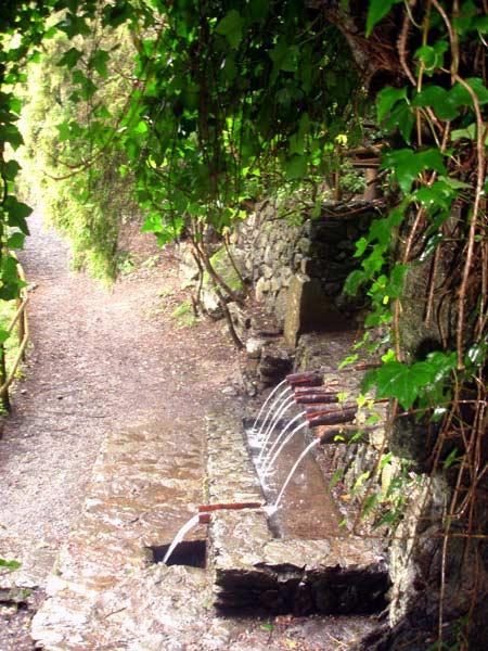 Chorros de Epina, Brunnen der magischen Quellen von Epina
