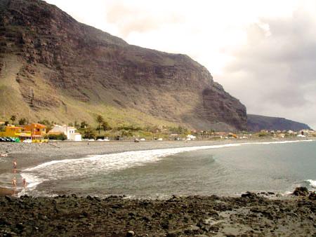 Strand in Valle Gran Rey