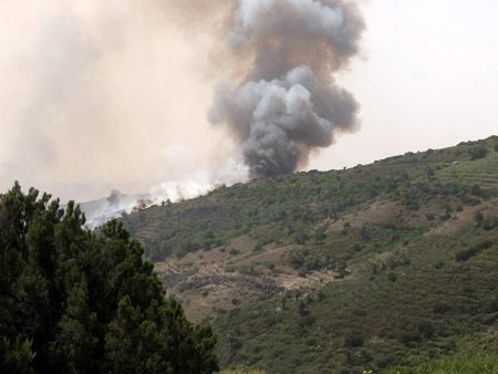 Waldbrand La Gomera