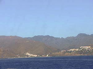 Anreise La Gomera mit Fähre über San Sebastian