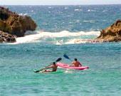 Kaja fahren, Kanu La Gomera