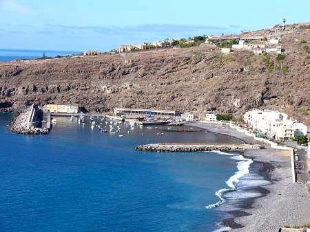 Hafen auf La Gomera, Playa Santiago