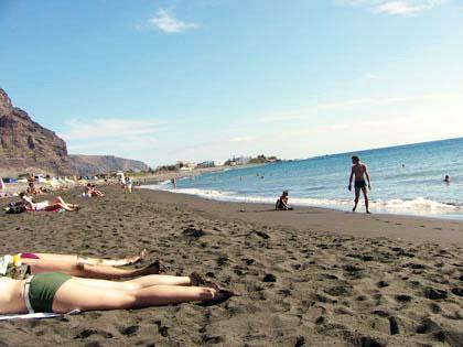 Strand La Playa, Valle Gran Rey, La Gomera
