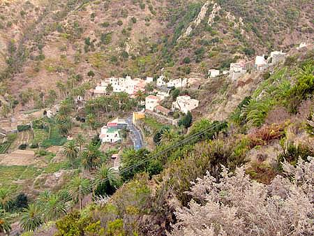 Vallehermoso Urlaub im Grünen, La Gomera