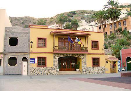 Vallehermoso Rathaus, Ayuntamiento, La Gomera