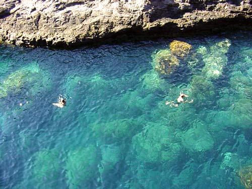 Meeresschwimmbad, Charco, La Gomera, glasklares Wasser