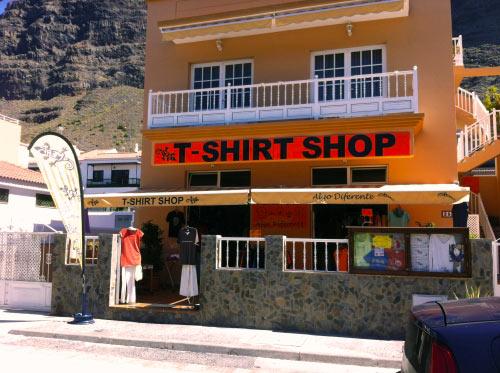 Einkaufen auf La Gomera, Geschäft Algo diferente