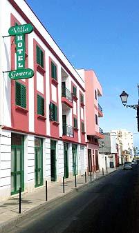 Hotel Villa Gomera, Hoteleingang